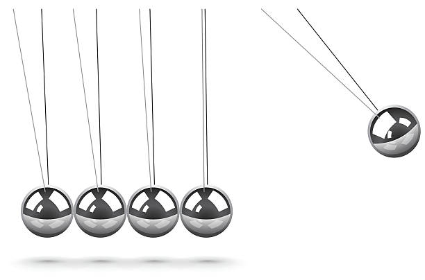 Best Newtons Cradle Illustrations, Royalty.