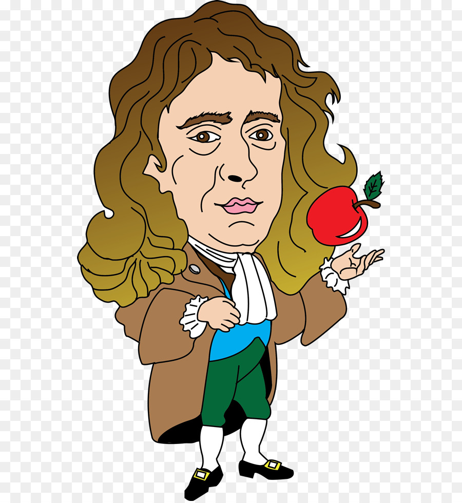 Isaac Newton Newtons laws of motion Clip art.