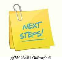 Next Steps Clip Art.