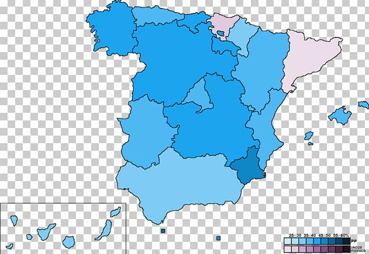 Spanish General Election PNG, Clipart, Blue, Map.