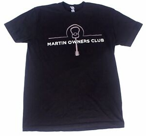 Martin Guitar Owners Club Tee Shirt By Next Level Apparel.