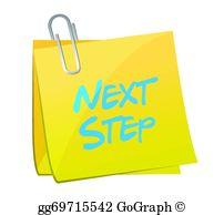 Next Step Clip Art.