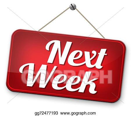 Schedule clipart next week, Schedule next week Transparent.
