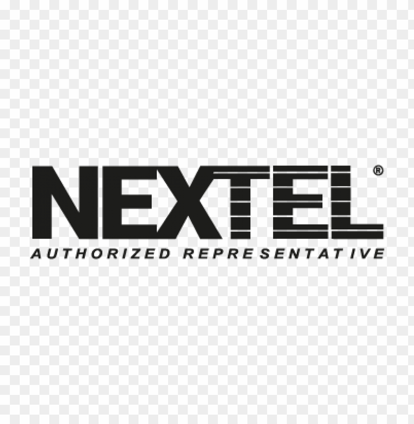 nextel communications vector logo free.