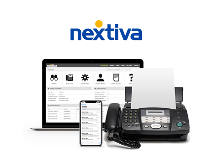 Nextiva, your online faxes to printer automatically.