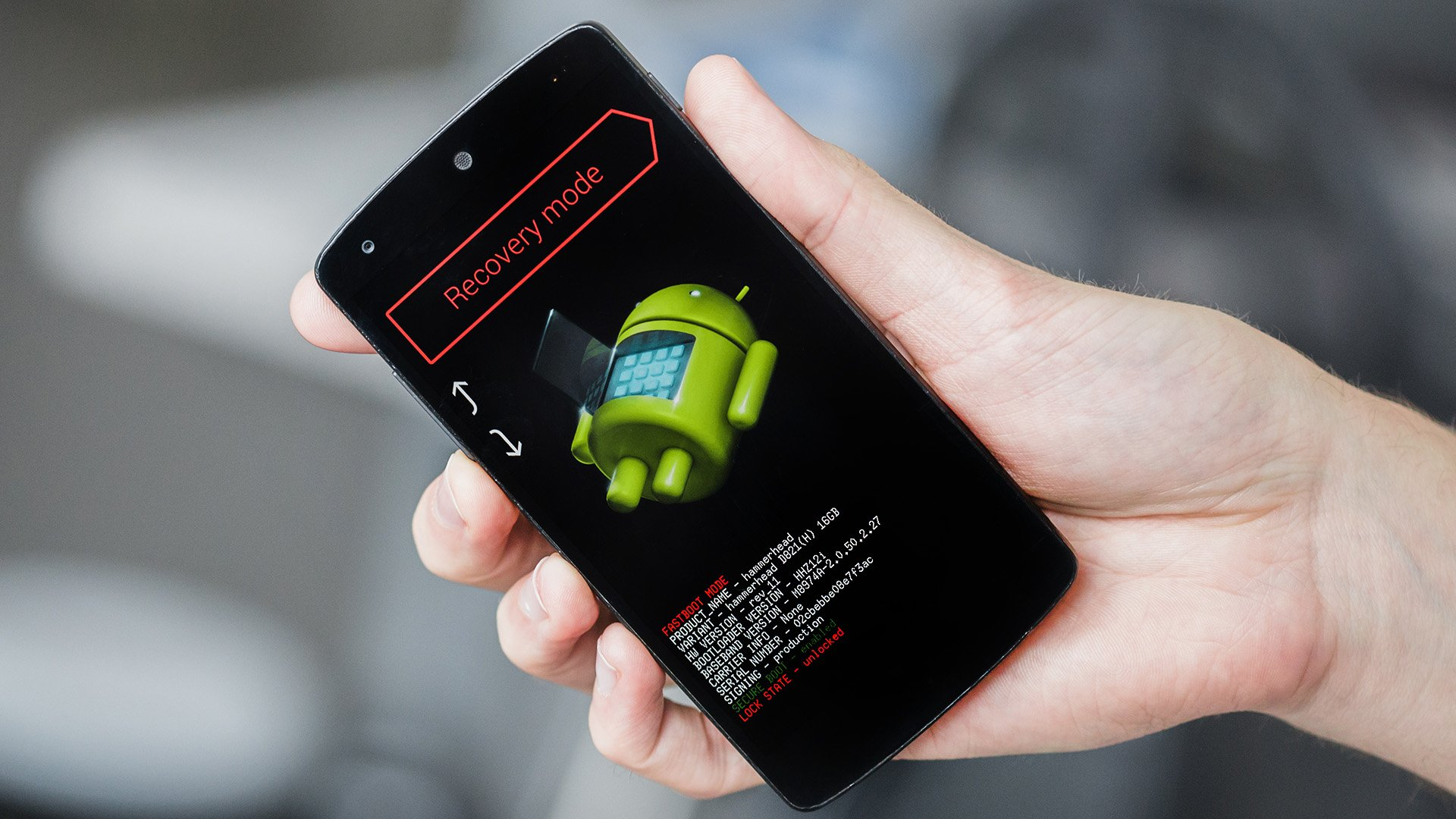How to unlock Nexus 5 bootloader: the first step for modding.