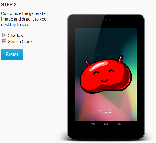 Nexus 7 Live Clipart.