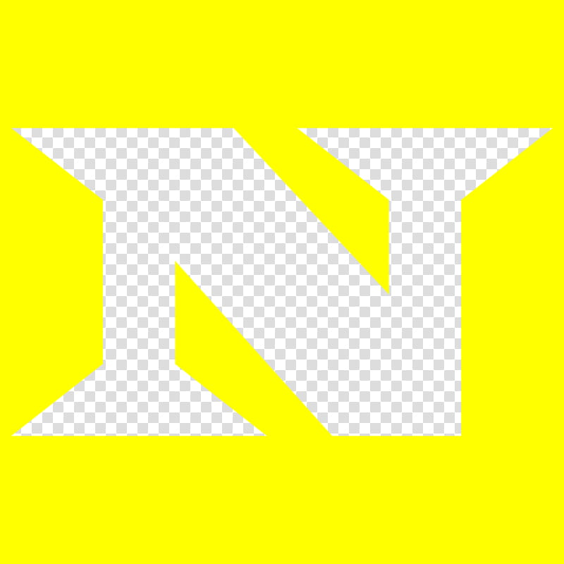 The Nexus Logo (Yellow) transparent background PNG clipart.