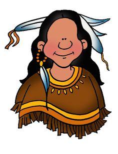 Free Native American Clip Art by Phillip Martin, Nez Perce Man.