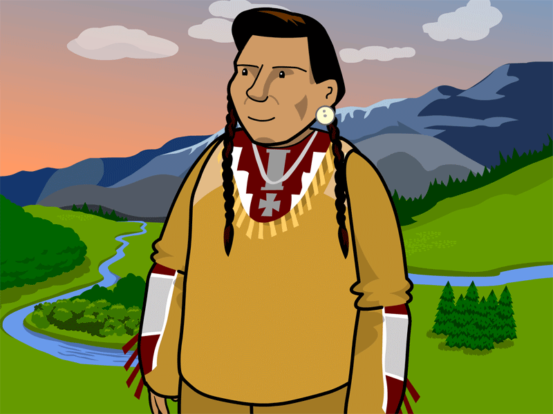 Chief Joseph Clipart.