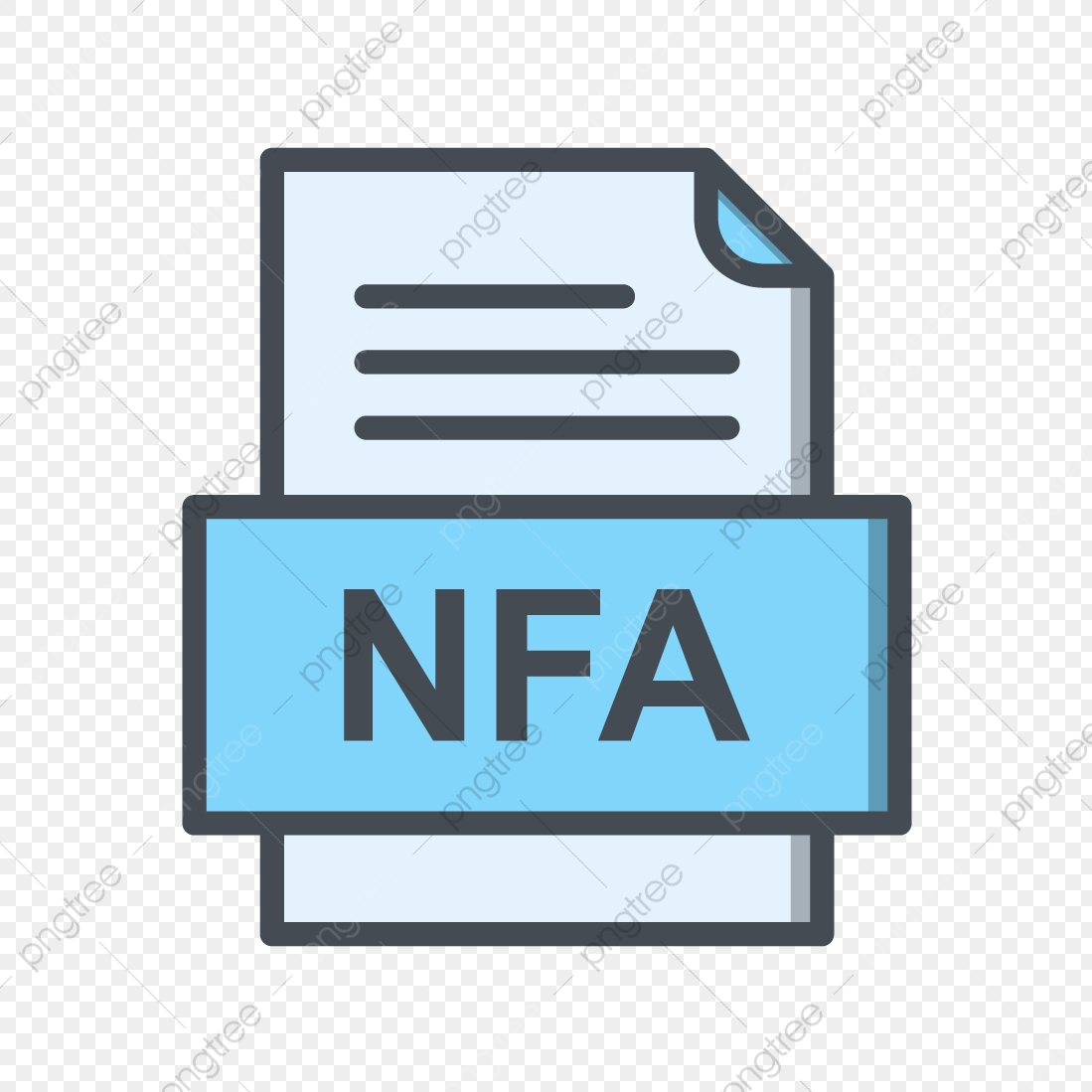 Nfa File Document Icon, Nfa, Document, File PNG and Vector.