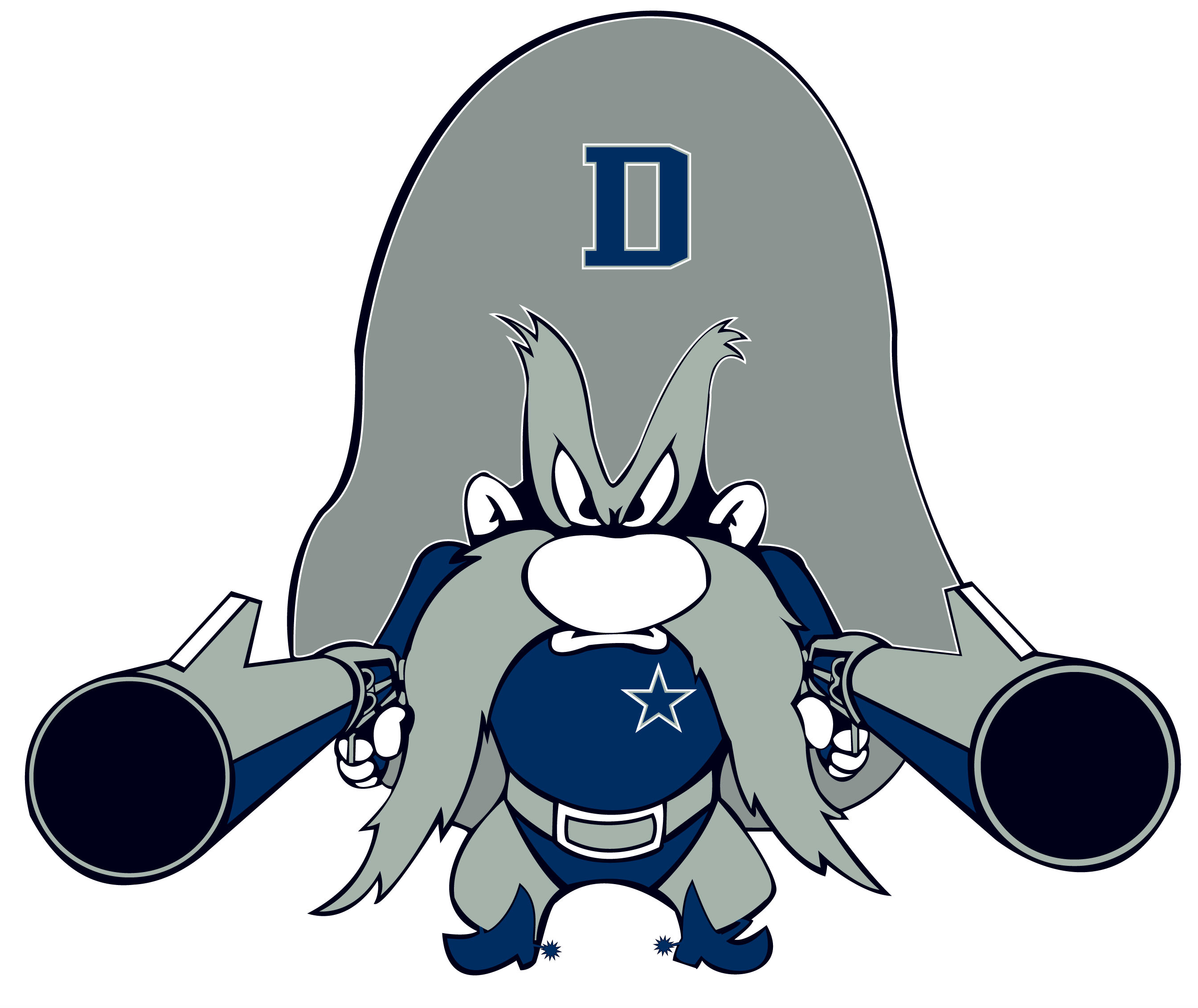 Dallas Cowboys Symbol Clipart.