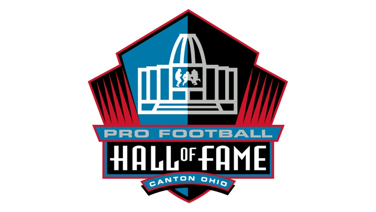 Pro Football Hall of Fame induction tonight.