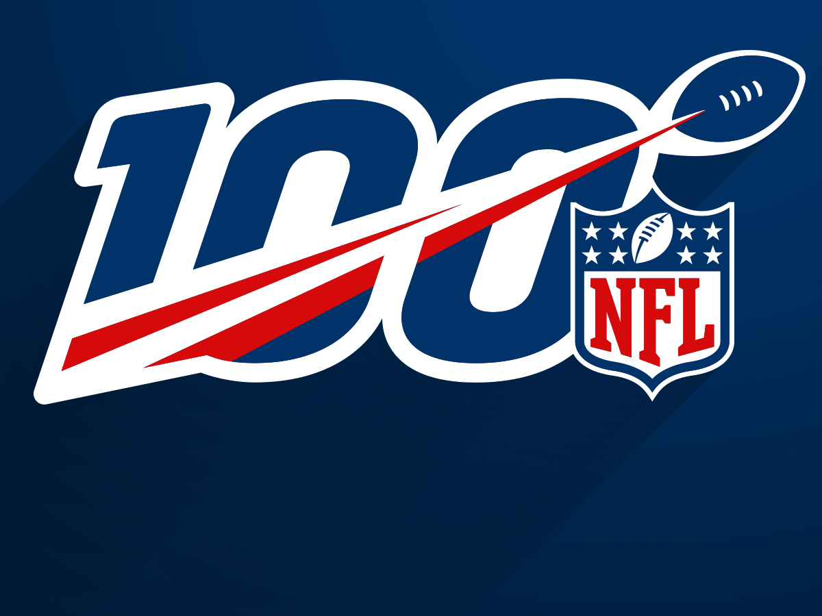 NFL reveals logo, celebration plans for 100th season.