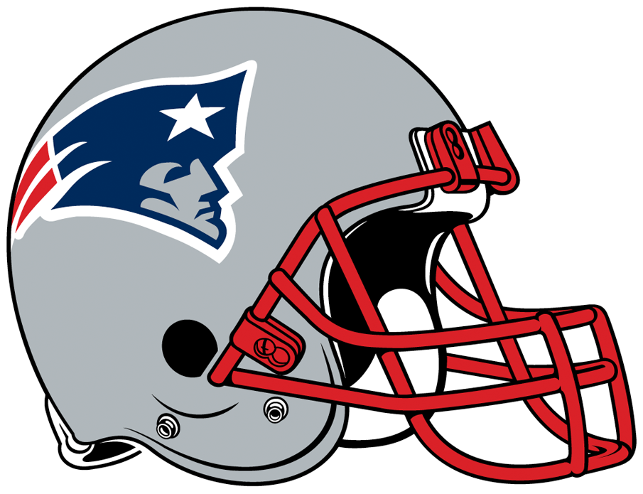 New England Patriots Helmet.