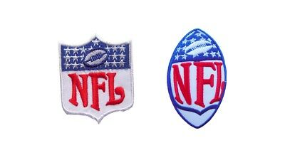 New NFL, National Football League Shield Logo embroidered iron on patch..