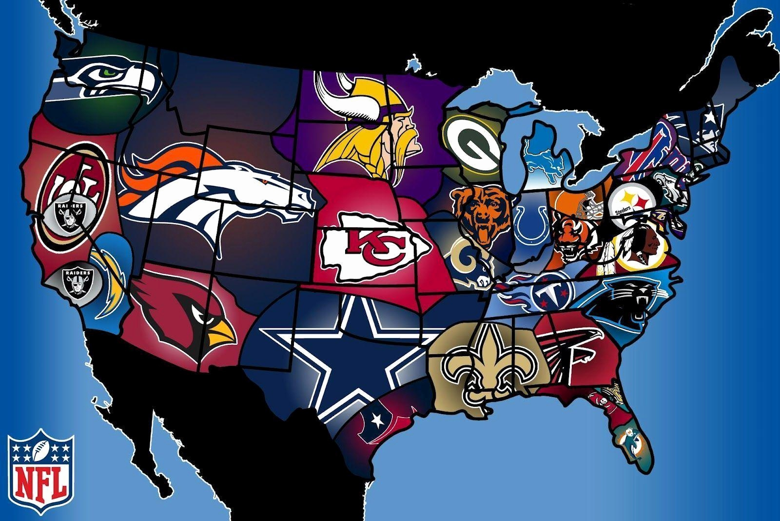 Nfl Team Logos Wallpaper Awesome Nfl Teams Wallpapers 2016.