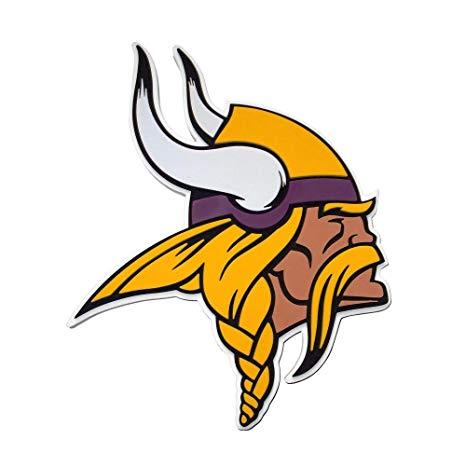 Amazon.com: NFL Minnesota Vikings 3D Foam Wall Sign: Sports.