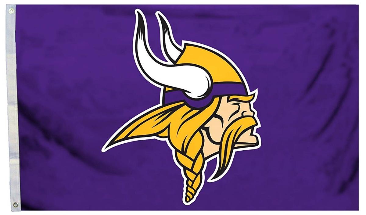 Minnesota Vikings Flag 3x5 Purple NFL.