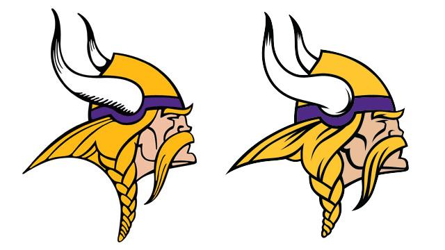 Minnesota Vikings give Norseman logo facelift for 2013.