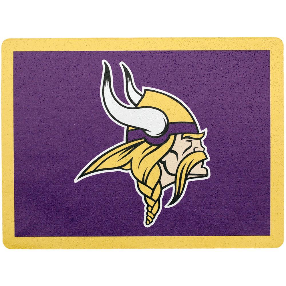 NFL Minnesota Vikings Address Logo Graphic.