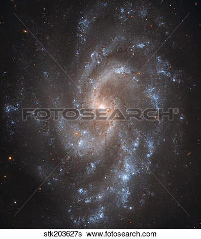 Stock Images of Spiral Galaxy NGC 5584 stk203627s.
