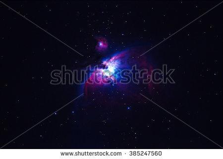 Great Orion Nebula Stock Photos, Royalty.