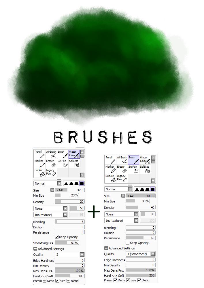 PaintTool SAI brush settings 2 (tree) by M42NGC1976 on DeviantArt.