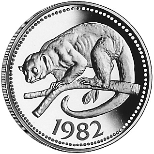 1982 Belize 100 Dollars KM 70 Prices & Values.