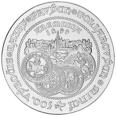 1999 Slovakia 500 Korun KM 50 Prices & Values.