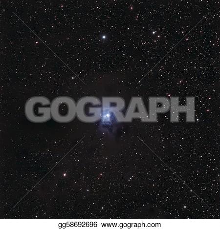 Reflection nebula clipart.