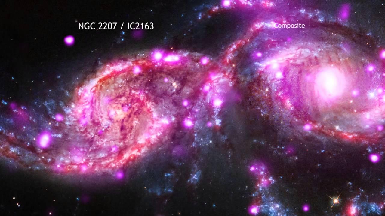 Tour of NGC 2207.