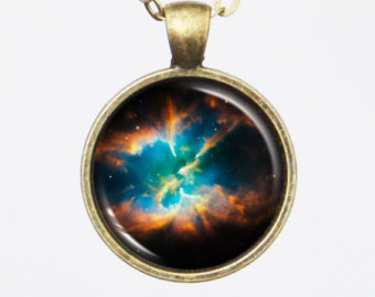 Universe Pendant Necklace.
