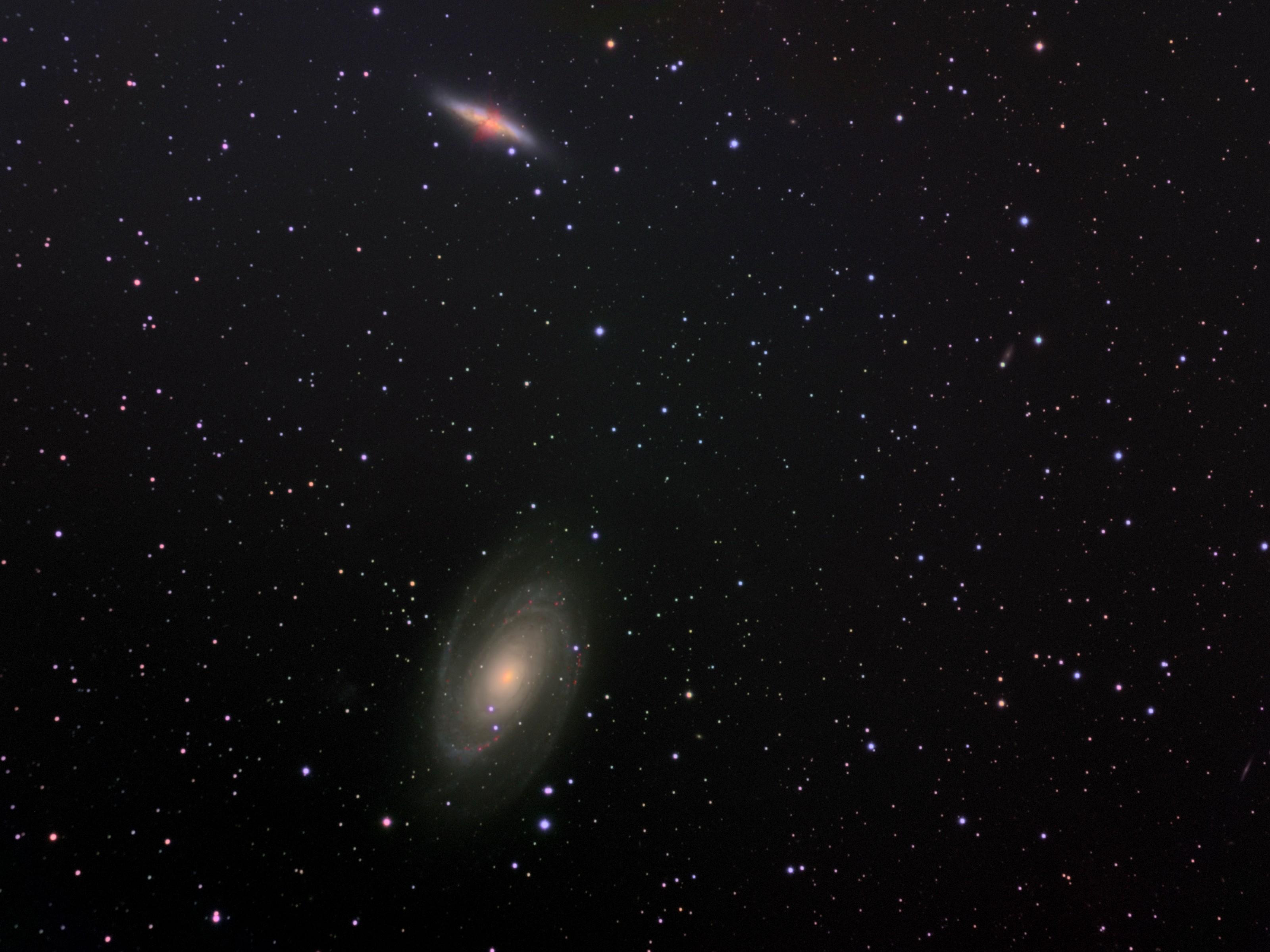 NGC 3031; NGC 3034; M81; M82.