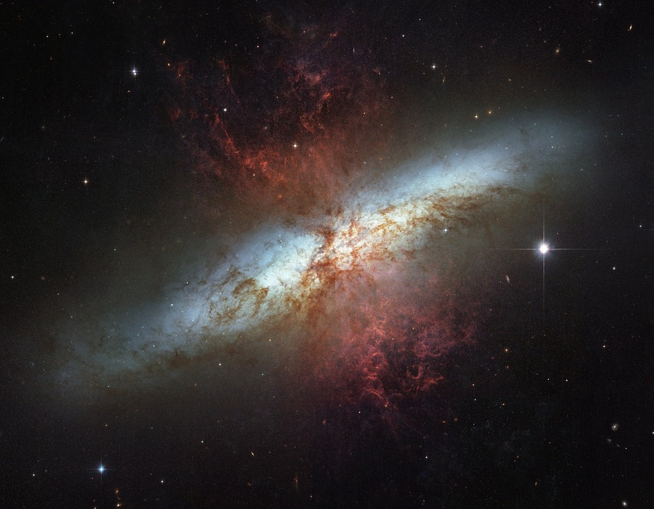 Free photo M82 Ngc 3034 Spiral Galaxy Messier 82.