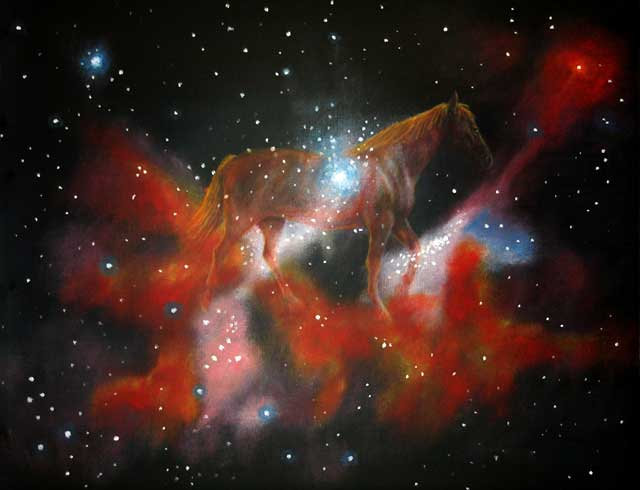 Hubble Paintings.