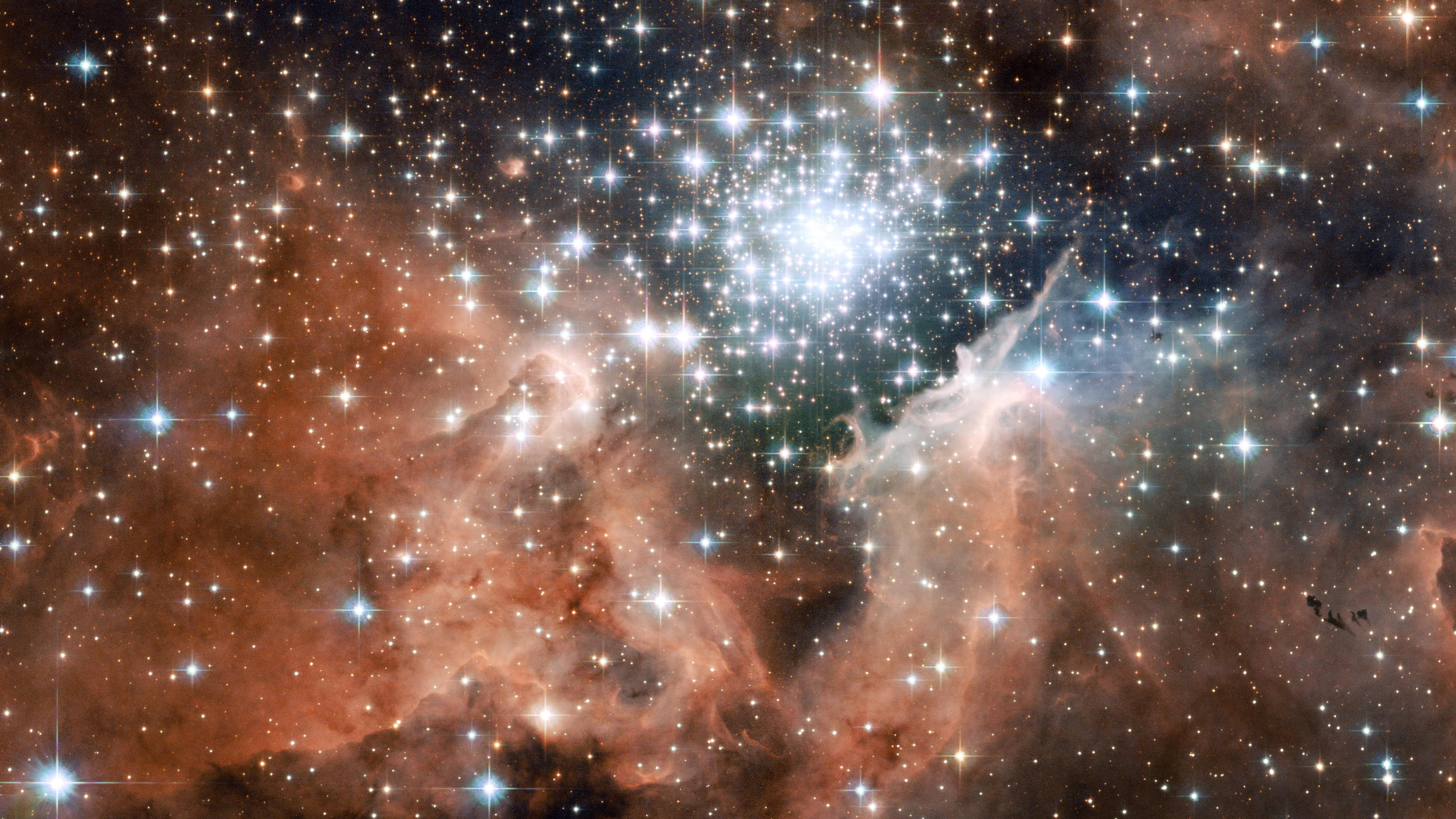 Nebula NGC 3603 full «Earth from space «Space photos «Universe.