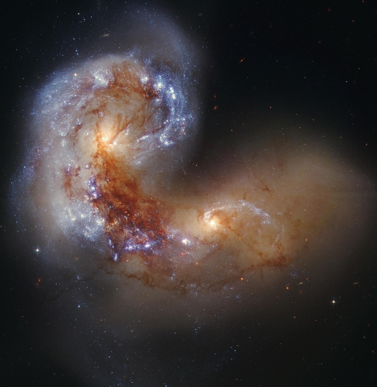 Galaxy Collision.