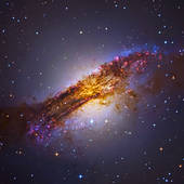 Stock Images of Centaurus A Galaxy NGC 5128. jon100001s.