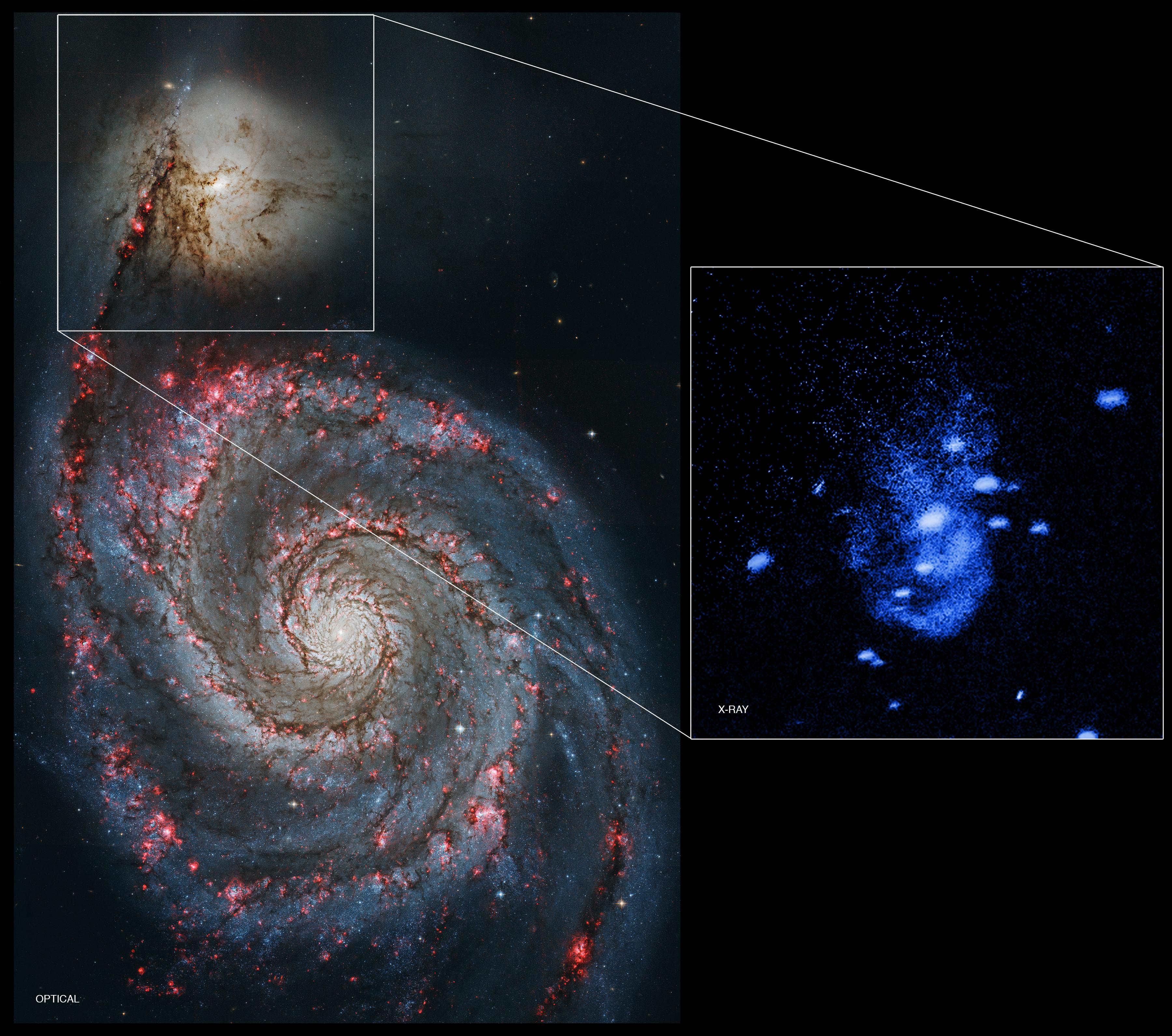 Galaxy NGC 5195.