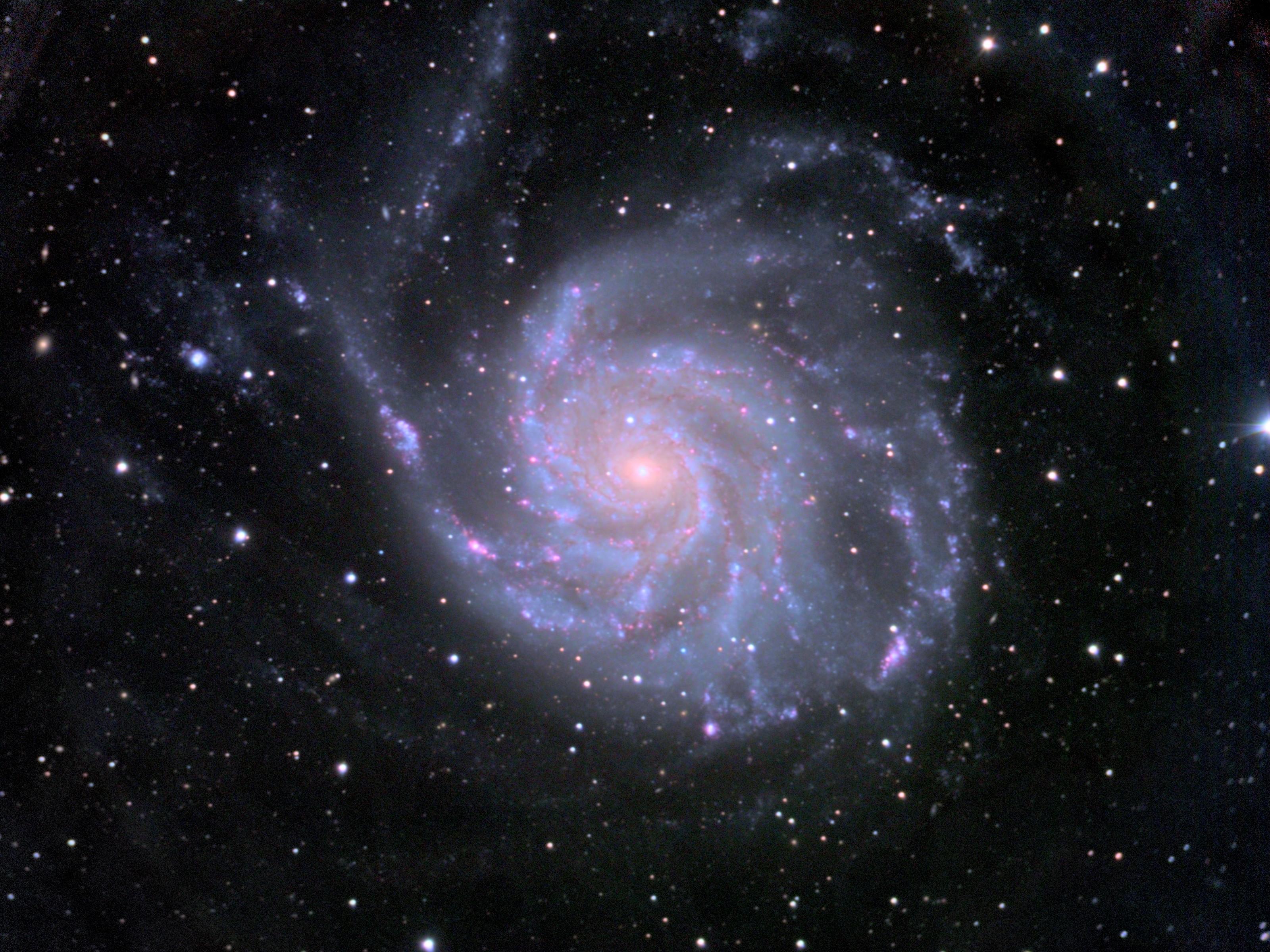 NGC 5457; M101; Pinwheel Galaxy.