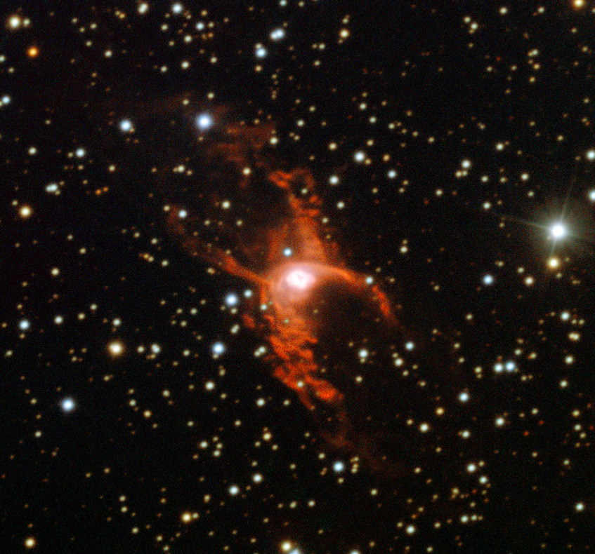 Red Spider Nebula.