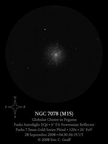 NGC 7078 (M15).