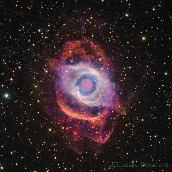 The Helix Nebula NGC 7293 (page 2).