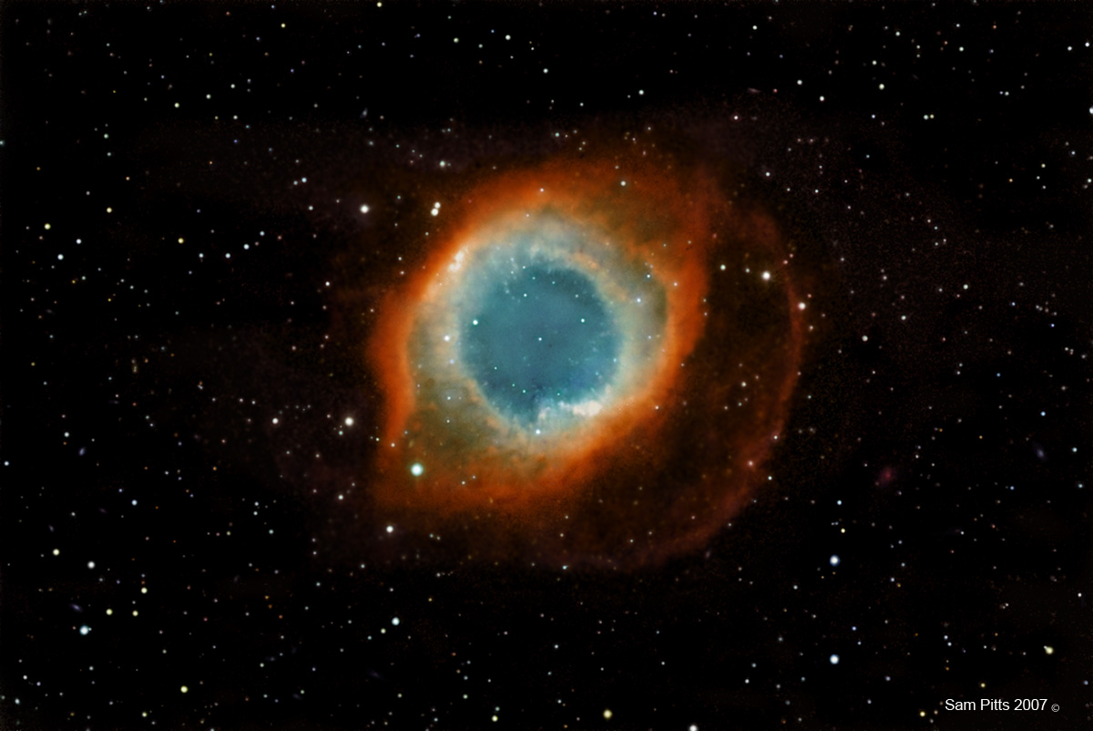 The Helix Nebula NGC 7293.