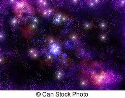 Stock Illustration of planetary nebula space universe.