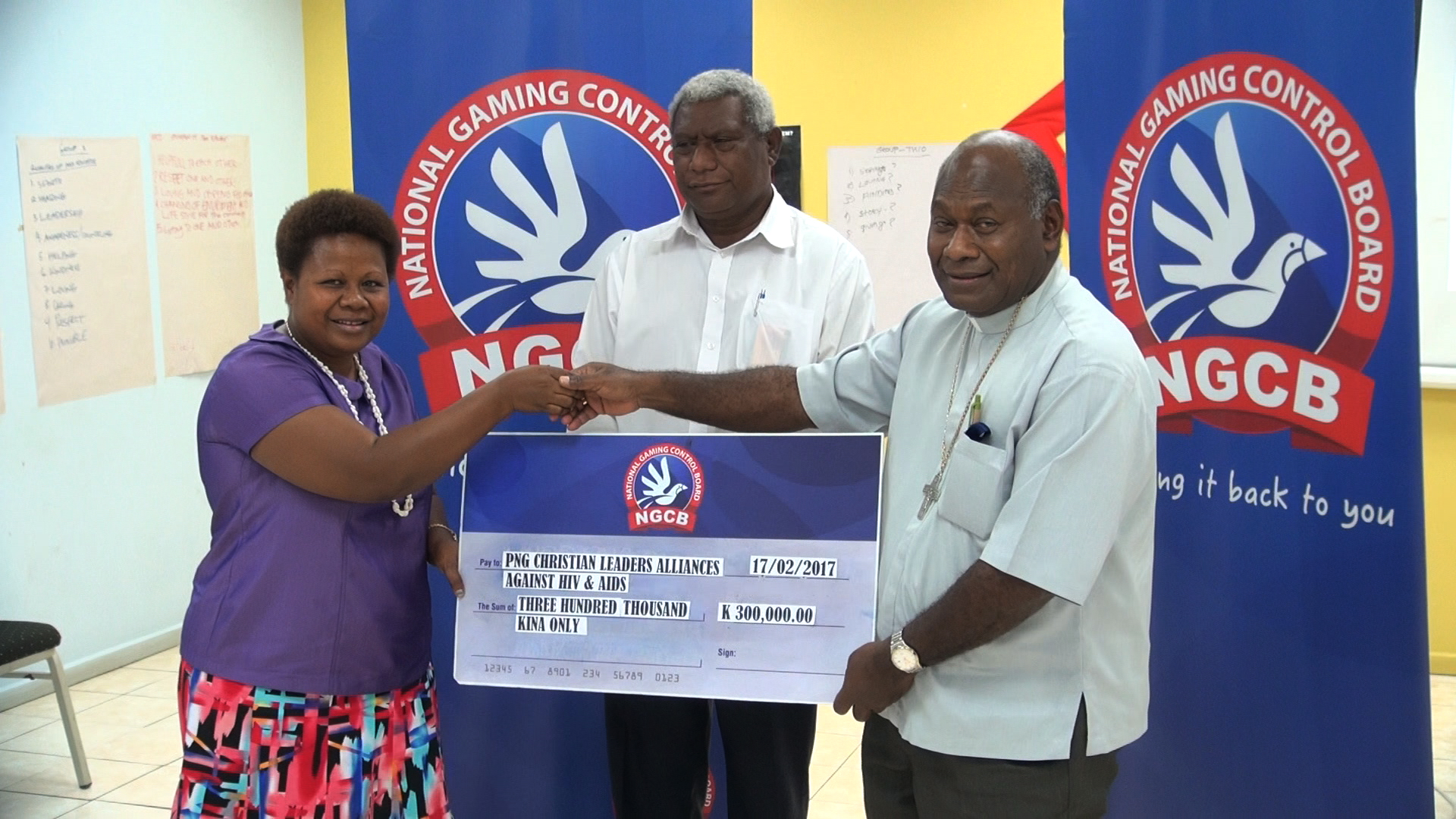 NGCB supports PNG Christian Leaders Alliance for HIV Summit.