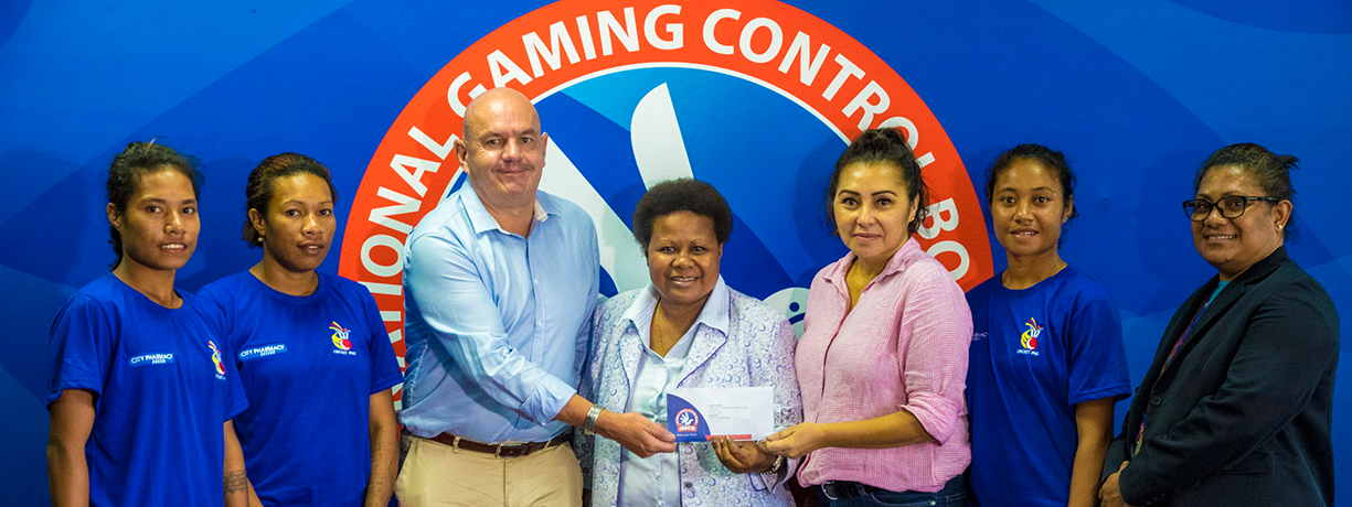 National Gaming Control Board continues Cricket PNG.