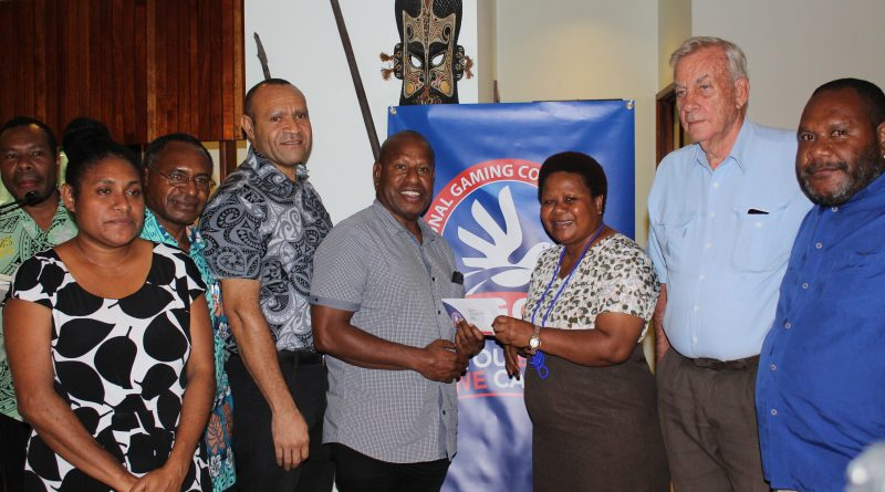 PNG National Gaming Control Board.