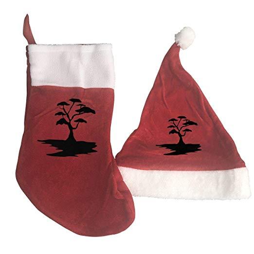Amazon.com: LXXYZ Art Free Clipart Black Tree 2PCS Hat+Socks.